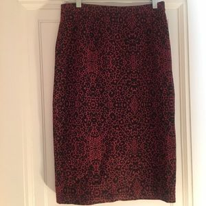 Halogen Long Pencil Skirt